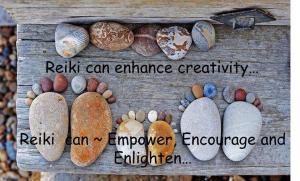 Reiki can encourage and enlighten