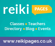Reiki Pages directory and events logo