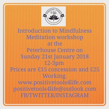 Intro to Mindfulness at Peterhouse Centre E17